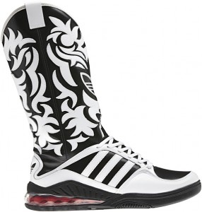 New in..Fashion? Adidas Creates New Cowboy Boot Sneakers