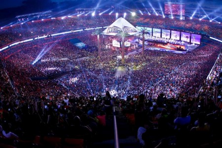 WrestleMania Sets Records!