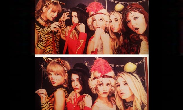 Dianna Agron's Circus-Themed Birthday Bash With Taylor Swift!