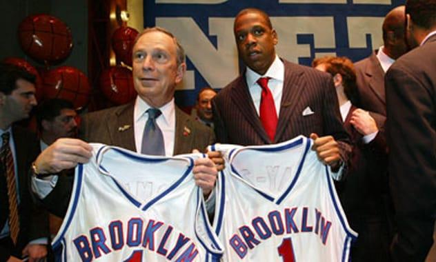 News: Jay-Z Helps Say Goodbye New Jersey, Hello Brooklyn Nets
