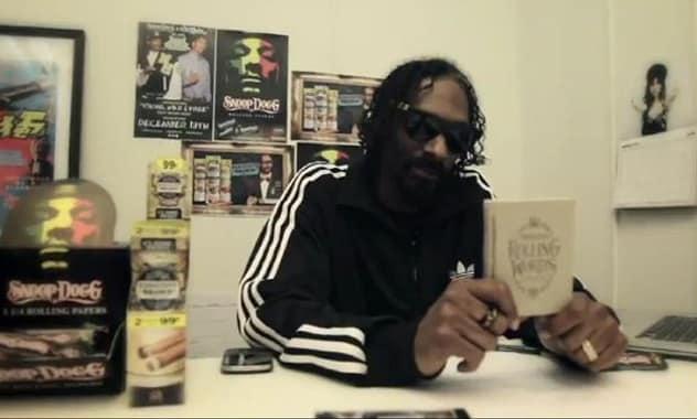 Snoop Dogg Releases Smokable Book...No, Seriously