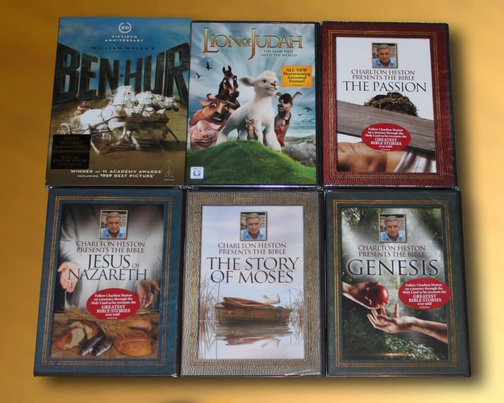 --CLOSED--Easter Movies DVD Prize Pack--CLOSED--