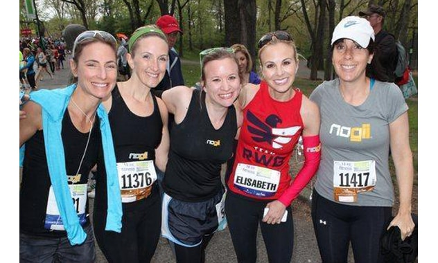 The View's Elisabeth Hasselbeck Ran & Hosted 9TH Annual More Magazine/FITNESS Magazine Women's Half-Marathon in Central Park