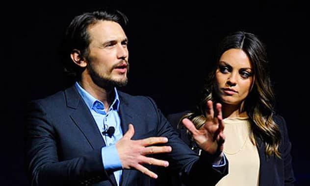 Mila Kunis Hits Vegas with James Franco
