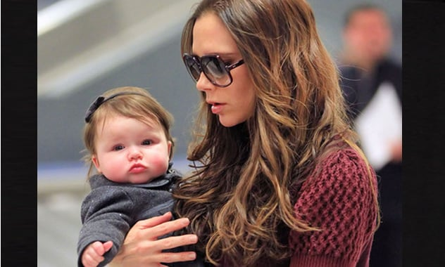 David and Victoria Beckham's Baby Daughter Harper Offered First Modeling Gig!