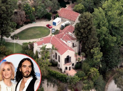 Russell Brand Forks Over $6.5 Million Hollywood Home to Katy Perry