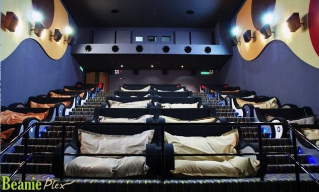 TGV Cinemas' Beanieplex: The World's Most Comfortable Movie Theater
