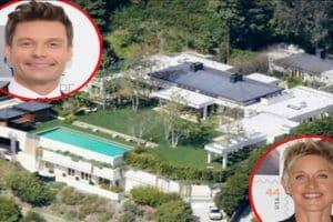 Hollywood House Swap: Ryan Seacrest, Ellen DeGeneres & Brad Pitt Invade Each Other's Space