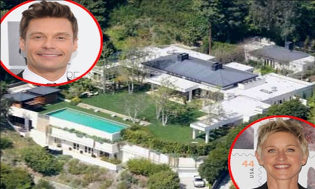 Hollywood House Swap: Ryan Seacrest, Ellen DeGeneres & Brad Pitt Invade Each Other's Space