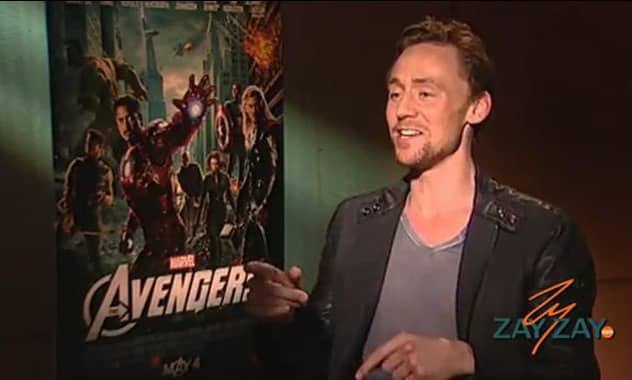 The Avenger's Tom Hiddleston Sings Will Smith's Miami - Zay Zay.Com