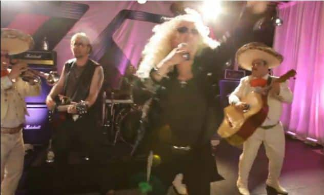 "Twisted Sister does mariachi mash-up of ""We're Not Gonna Take It"" for Cinco de Mayo"