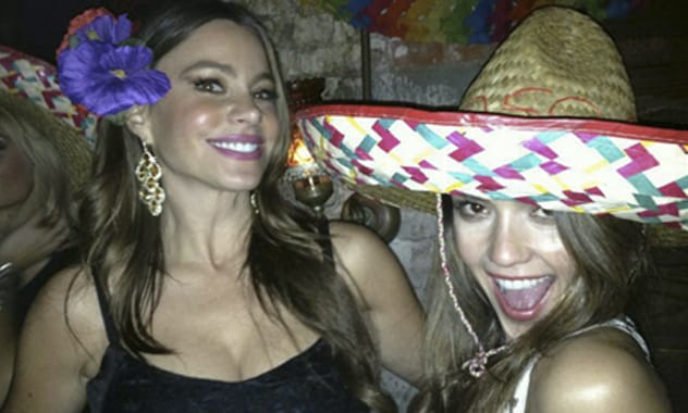 Sofia Vergara's Post-Split Partying with Jessica Alba