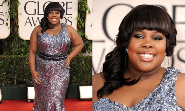 Glee's Amber Riley Collapses on Red Carpet