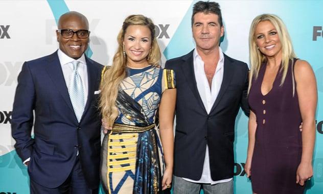 Britney Spears & Demi Lovato Make X Factor Judging Debuts