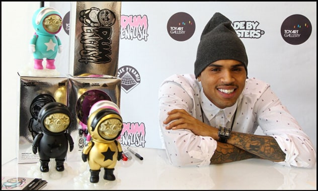 "Chris Brown's ""Dum"" Toys"