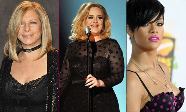 Barbara Streisand Duets With Rihanna And Adele?