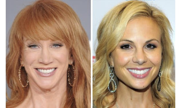 Kathy Griffin To Elisabeth Hasselbeck: 'Take It Down A Notch B***H'