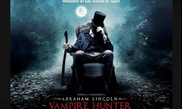 'Abraham Lincoln: Vampire Hunter' Clip: What Are You Doing With That Ax, Abe? (VIDEO)