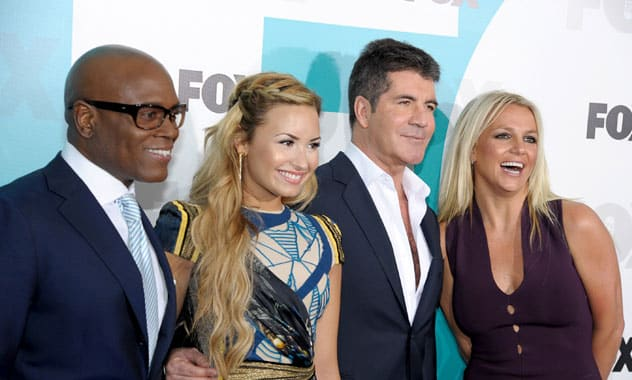 Demi Lovato Disappears From 'The X Factor'