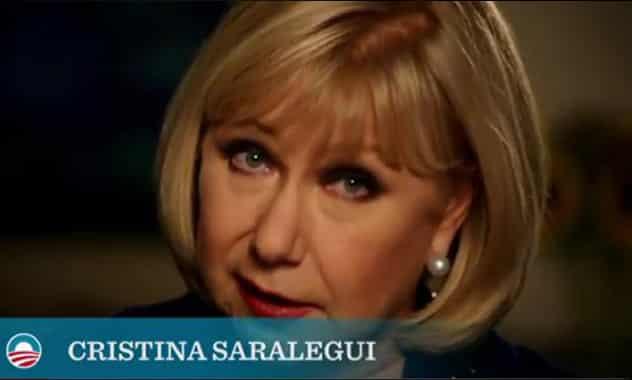 Cristina Saralegui Endorses Obama