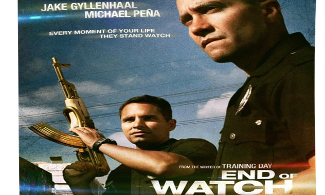 End of Watch-Official Trailer Is Up
