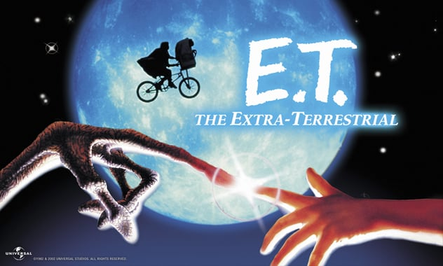 In Celebration of Universal Studios' 100th Anniversary, E.T. The Extra-Terrestrial Comes To Blu-Ray - Press Release