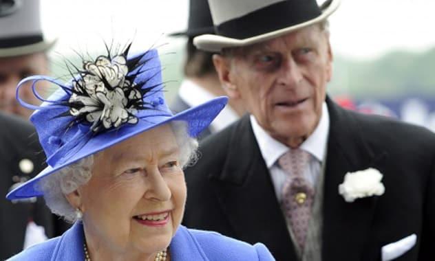 Queen Elizabeth Visits Her Husband in the Hospital