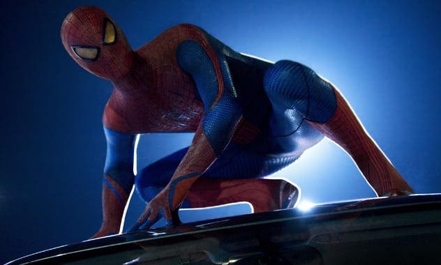 THE AMAZING SPIDER-MAN - Synopsis, Production Notes, and Images