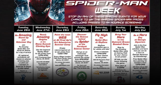 Spiderman Stand Up Volunteer Flyer Featured
