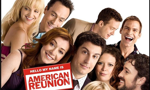 THE ENTIRE AMERICAN PIE ORIGINAL CAST REUNITE FOR THE BEST SLICE OF PIE YET! AMERICAN REUNION