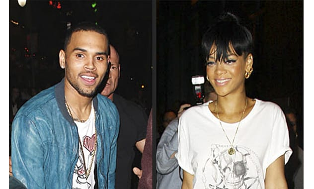Chris Brown Sneaks a Peek at Rihanna While Partying at Same N.Y.C. Club