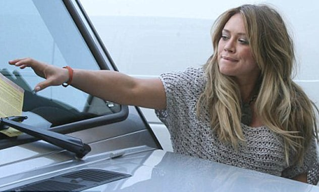 Hilary Duff Sued Over Car Accident