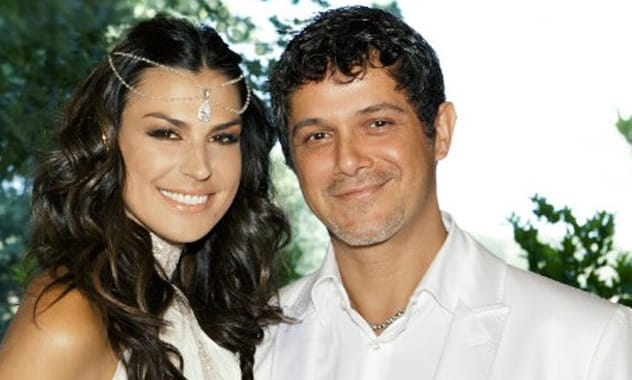 Alejandro Sanz and Raquel Perera Tie the Knot