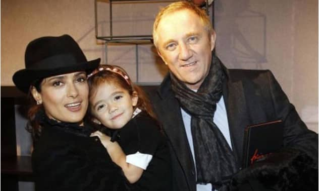 Salma Hayek was Told Her Baby Would Have Down Syndrome, Husband Claims