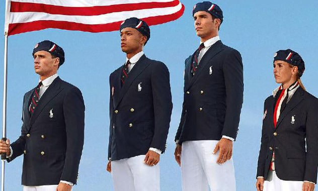 U.S. Olympics uniforms made in China; Congress sees red