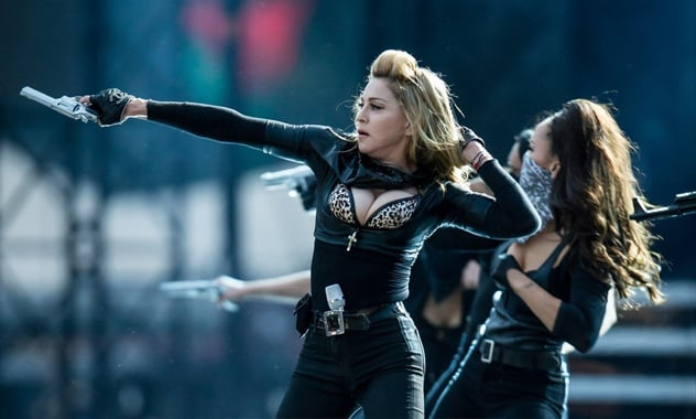 Madonna's Latest Stunt: Putting a Gun to Her Head Onstage