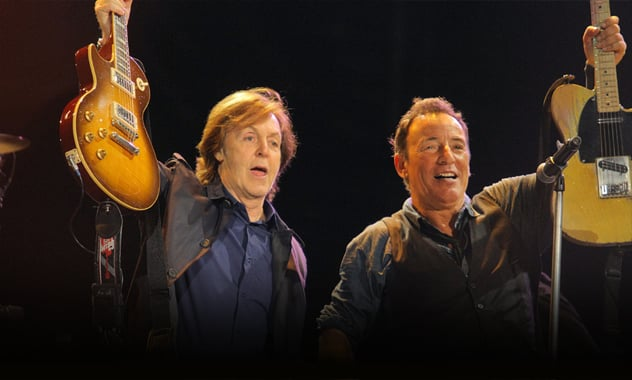Bruce Springsteen & Paul McCartney In Hyde Park: Concert Organizers Pull Plug On Show  1