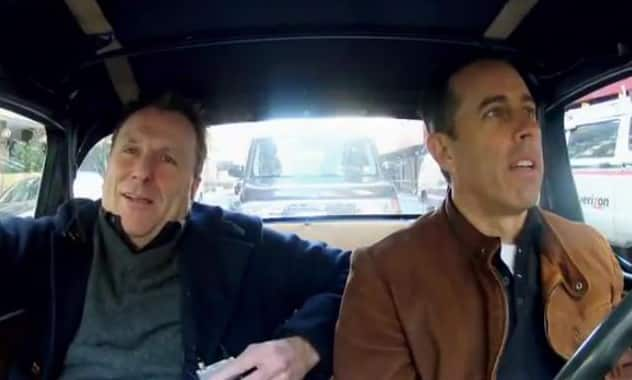 Jerry Seinfeld's New Series 'Comedians In Cars Getting Coffee'