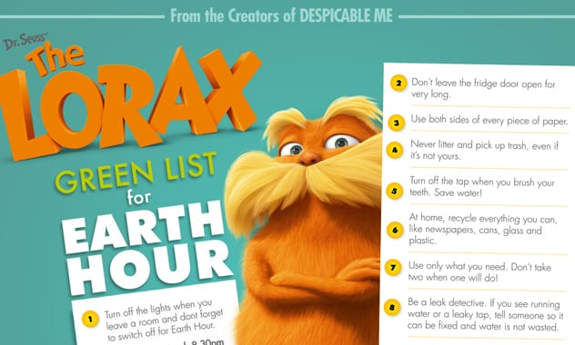 The Lorax DVD - Pledge Drive