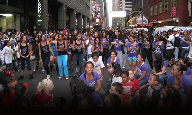 STEP UP REVOLUTION inspires Revolución Latina arts camp 3