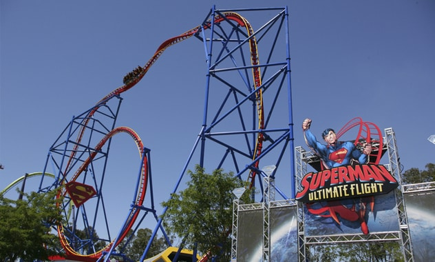 SUPERMAN Ultimate Flight Opens At Six Flags Discovery Kingdom