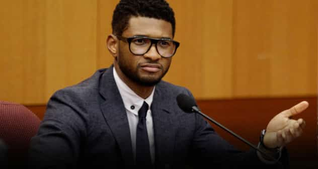 Usher Featured