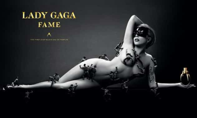 Lady Gaga Nude Fragrance Ad Features Strategically Placed Little Monsters