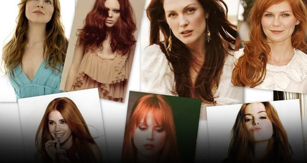 redhead celebrities Featured