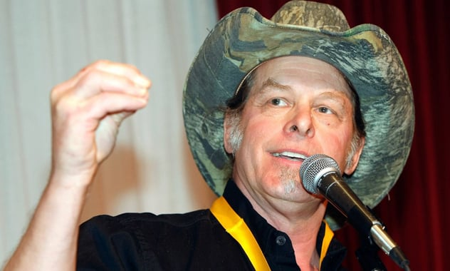 Ted Nugent Wonders If It Would It Have Been Better If 'The South Won The Civil War'