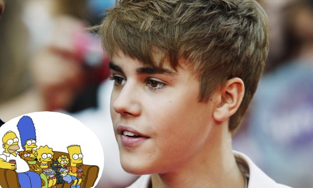 Justin Bieber To Appear On The Simpsons In 2013