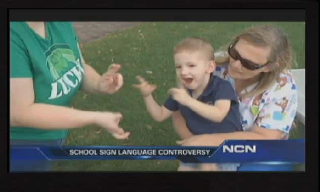 Hunter Spanjer, 3-Year-Old Deaf Boy, Told By Preschool To Change Way He Signs His Name