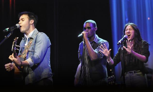 American Idol Winner Kris Allen And Berklee City Music Host 2012 Scholarship Concert 2