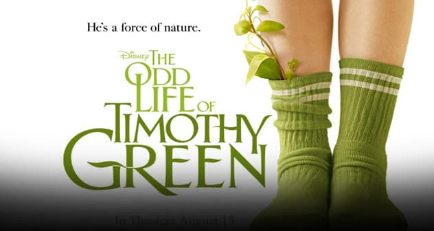 Odd Life of timothy Green Featured News