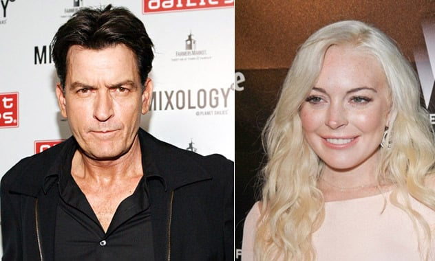 Charlie Sheen & Lindsay Lohan Join 'Scary Movie 5,' Will Almost Certainly Die